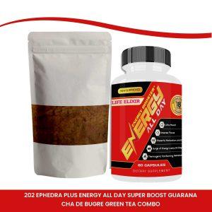 Ephedra Guarana preworkout energy gym supplement
